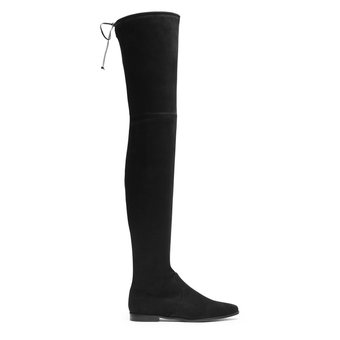Author, Luckiest Girl Alive - Stuart Weitzman Over the Knee Boots