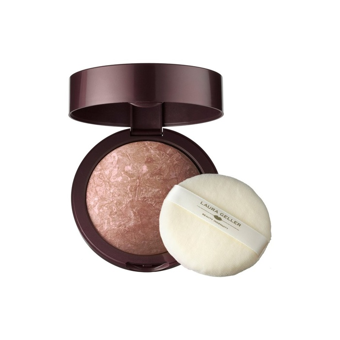 Founder and COO of Blushington - Laura Geller's Baked Body Frosting Bronzer