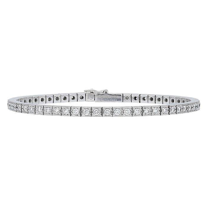 Cartier Lanieres Diamond Line Bracelet in 18K White Gold