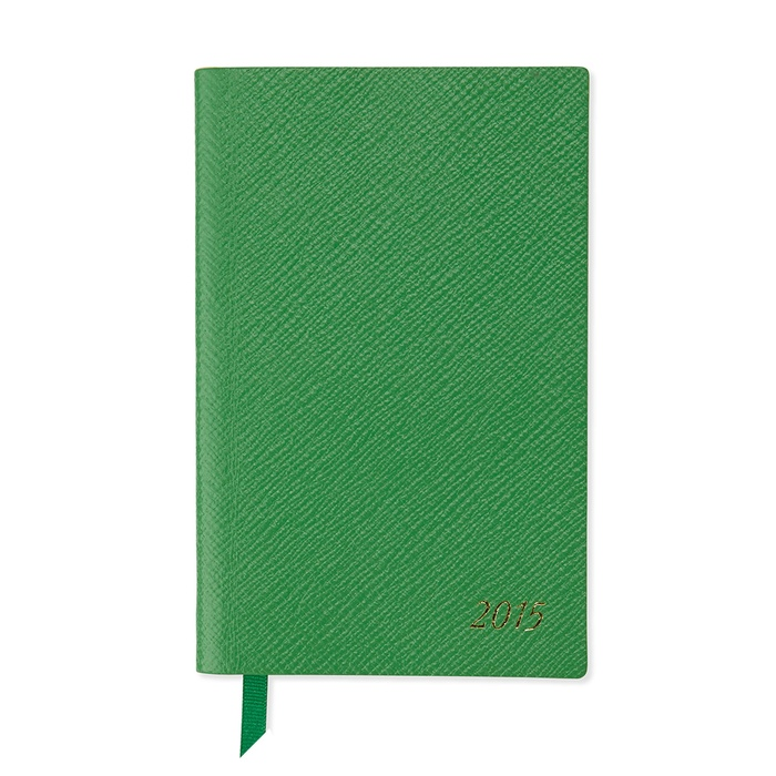 Founder, Nicely Noted - Smythson 2015 Panama Diary in Green