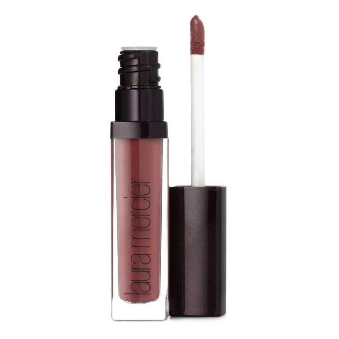 Founder, Nicely Noted - Laura Mercier mauve plum lip gloss