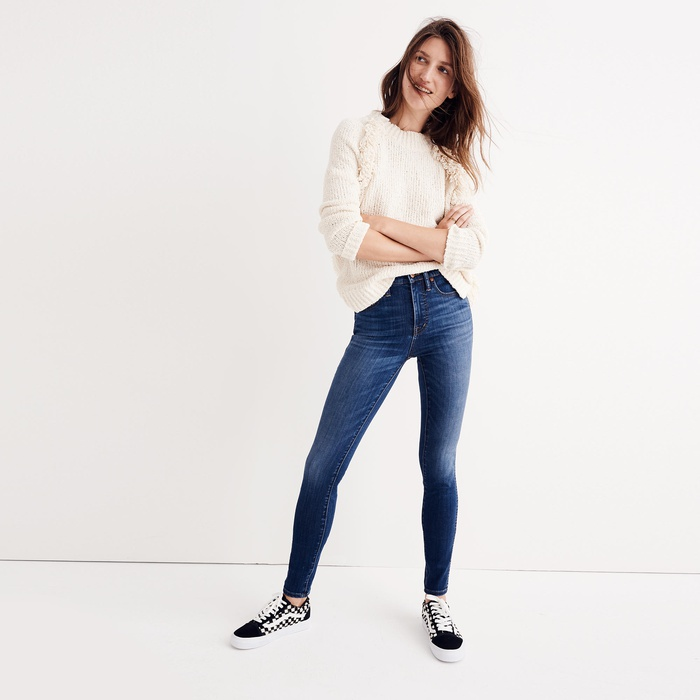 Interior Designer, Stylist, Best-Selling Author and TV Personality - Madewell High-Rise Jeans