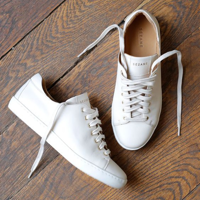 Founder and CEO of cocokind - Sezane Sneakers