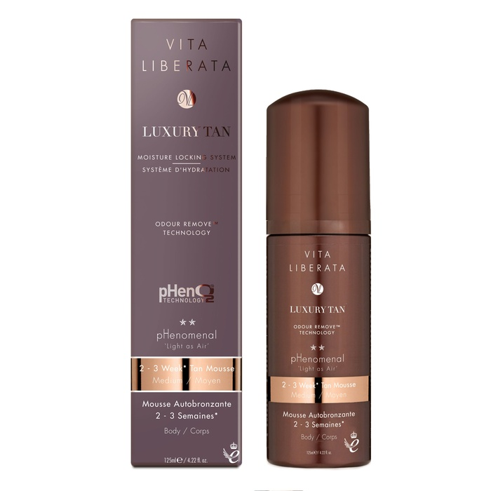Beauty Guru and Television Host - Vita Liberata pHenomenal 2-3 Week Tinted Tan Mousse