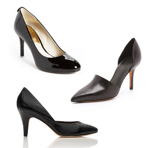 Rank & Style - Best Basic Black Pumps