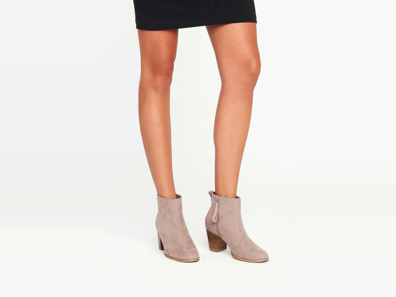 Rank & Style - Best Beige Booties