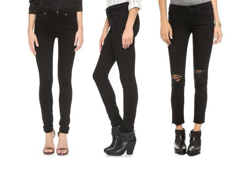 Rank & Style - Best Black Skinny Jeans
