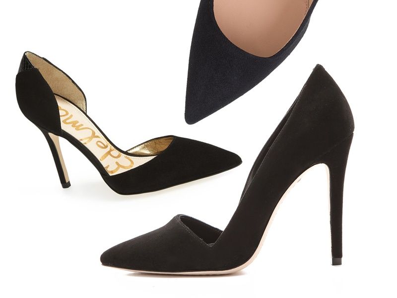 Rank & Style - Best Black Suede Winter Pumps