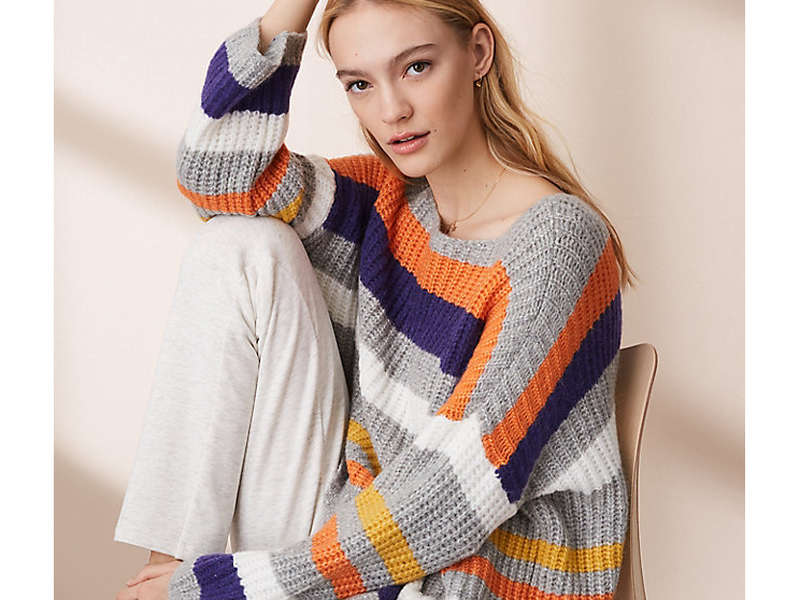 Rank & Style - Best Bold and Bright Sweaters