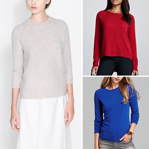 Rank & Style - Best Cashmere Crewnecks