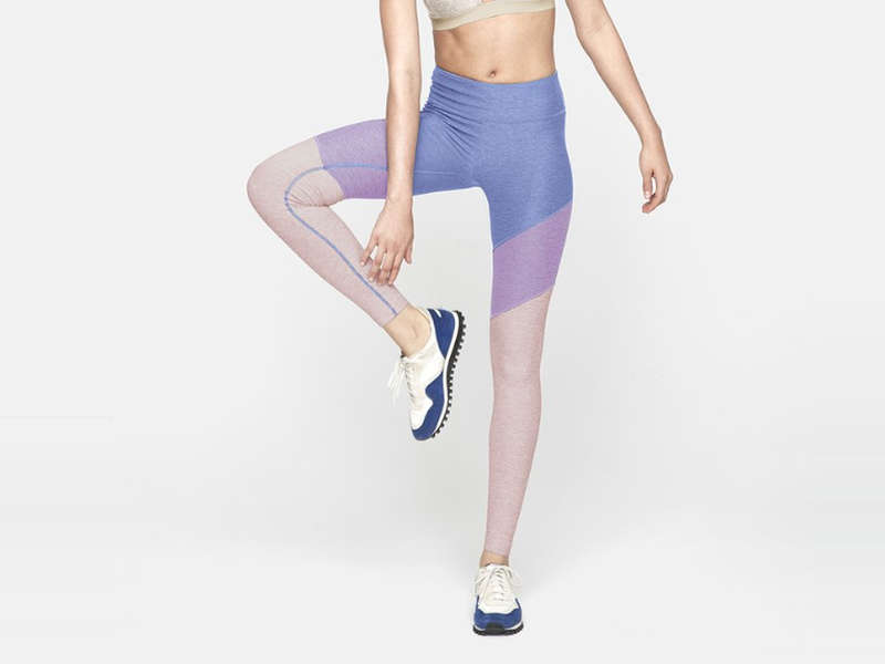 0ddce84ba89b Hit The Studio And The Streets In A New Cool Pair Of Colorblock Leggings