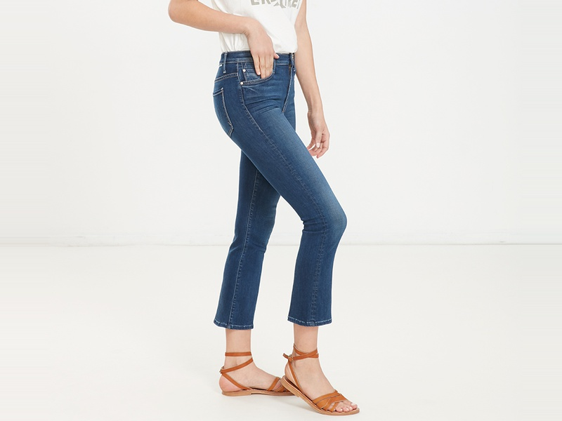 Rank & Style - Best Cropped Jeans