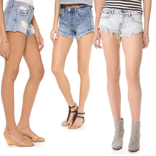 ed3fb0862e Cut off denim shorts that are shredded heaven!