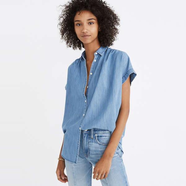 95c1aff2 These Denim Shirts Will Become Your New Go-To Top For Everyday Wear