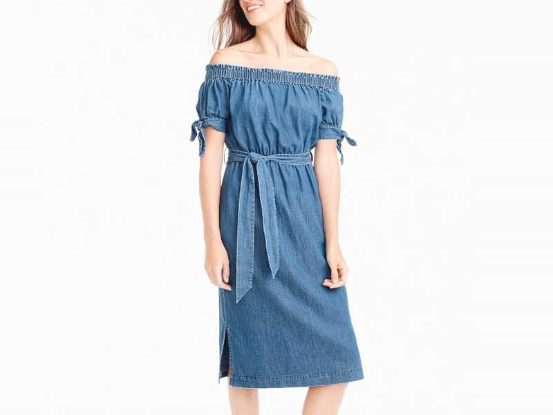 10 Best Denim Dresses