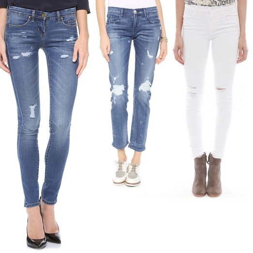 Rank & Style - Best Distressed Jeans For Spring
