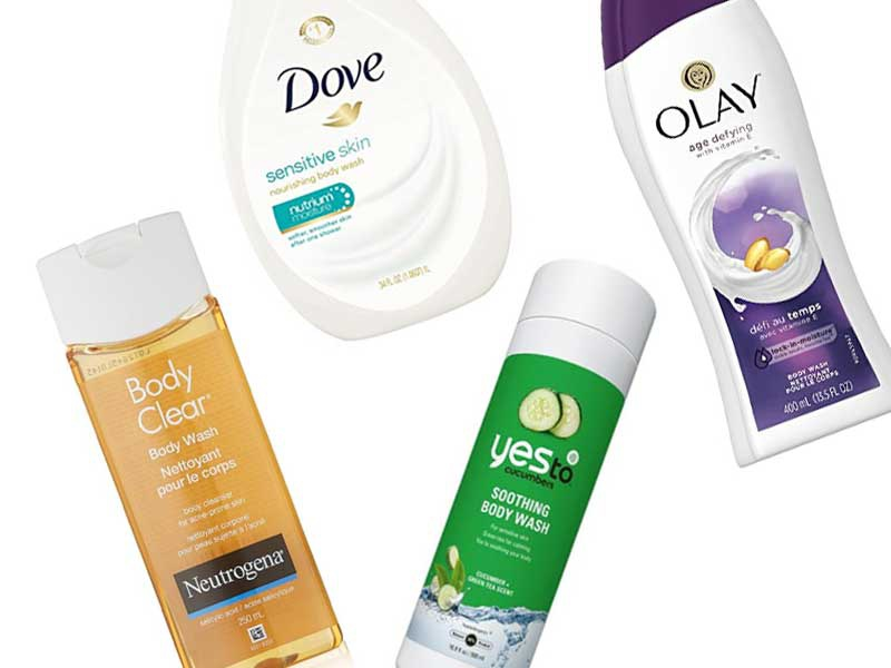 Rank & Style - Best drugstore body washes