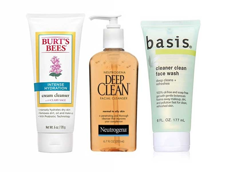 10 Best Drugstore Face Cleansers