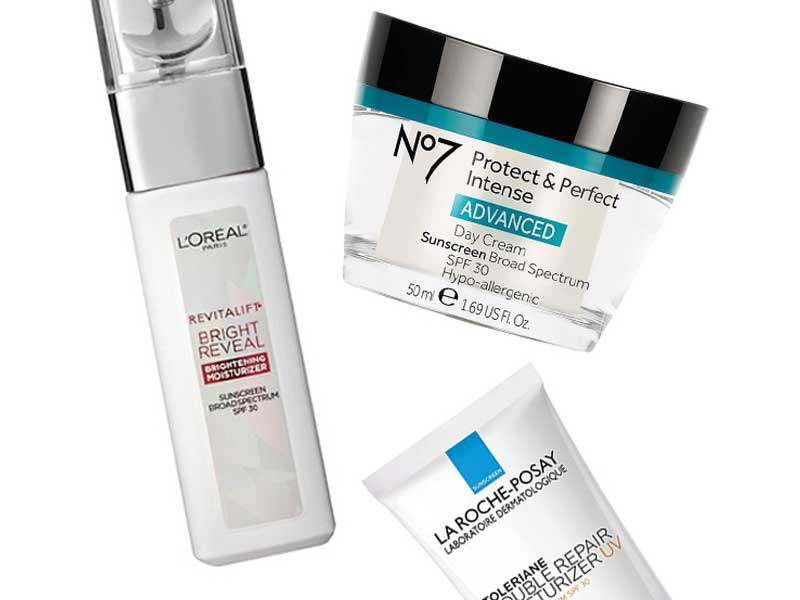10 Best Drugstore Face Moisturizers with SPF