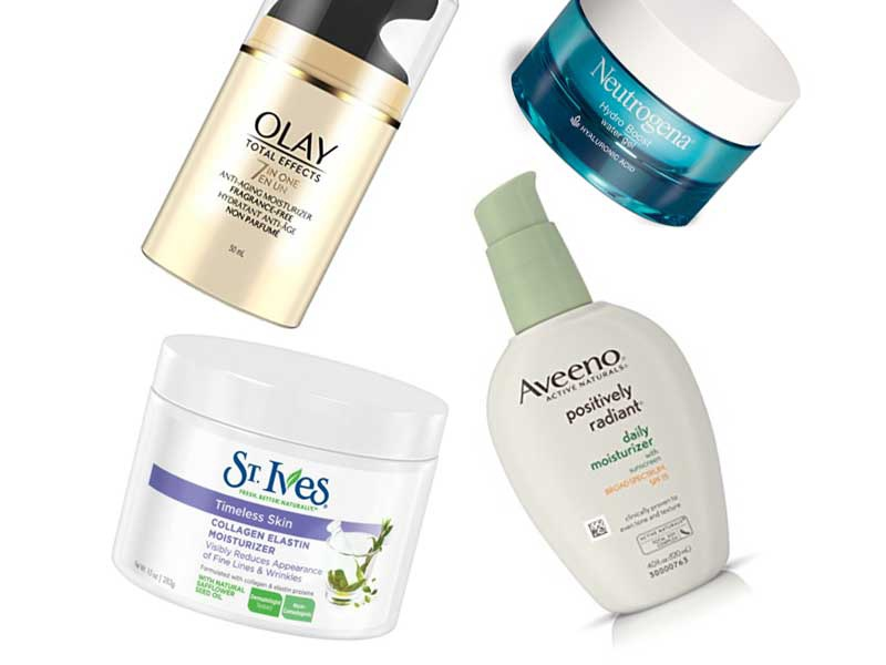 10 Best Drugstore Face Moisturizers