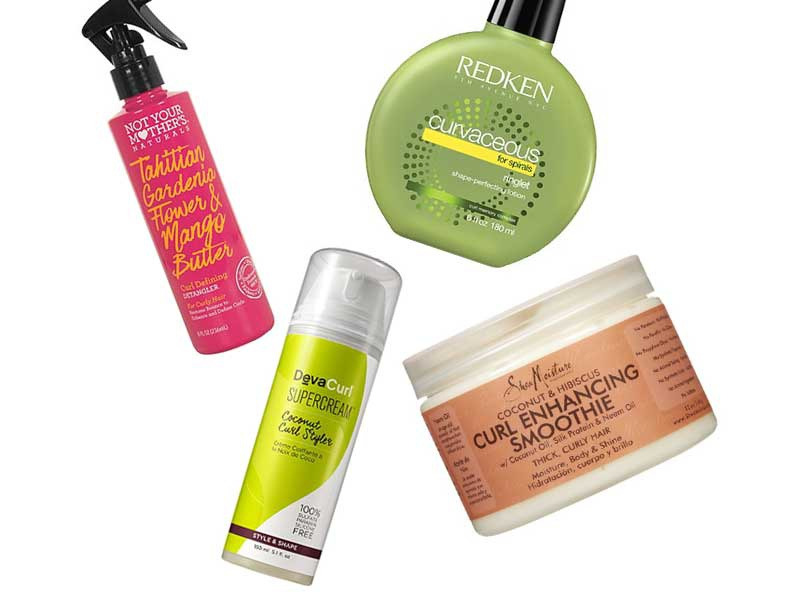 10 Best Drugstore Products For Curly Hair
