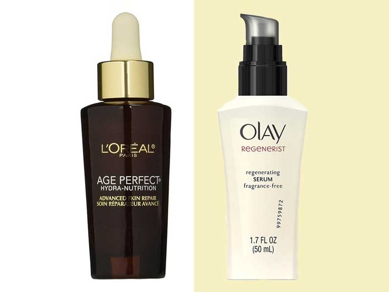 The Ten Best Drugstore Serums
