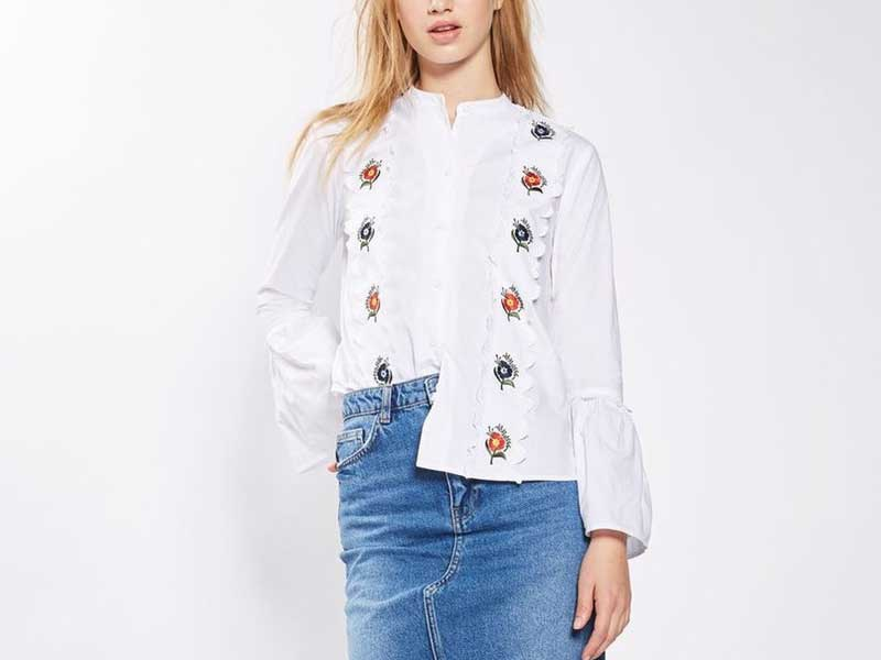 10 Best Embroidered Blouses