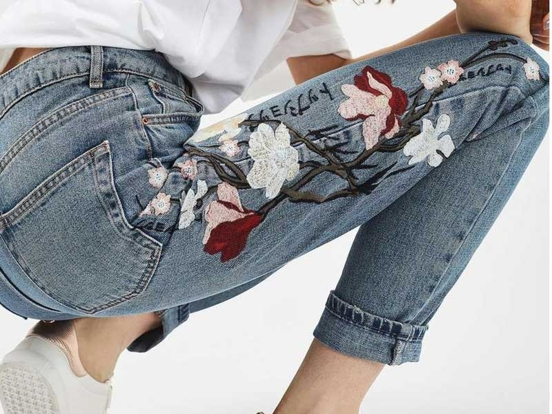 10 Best Embroidered Jeans