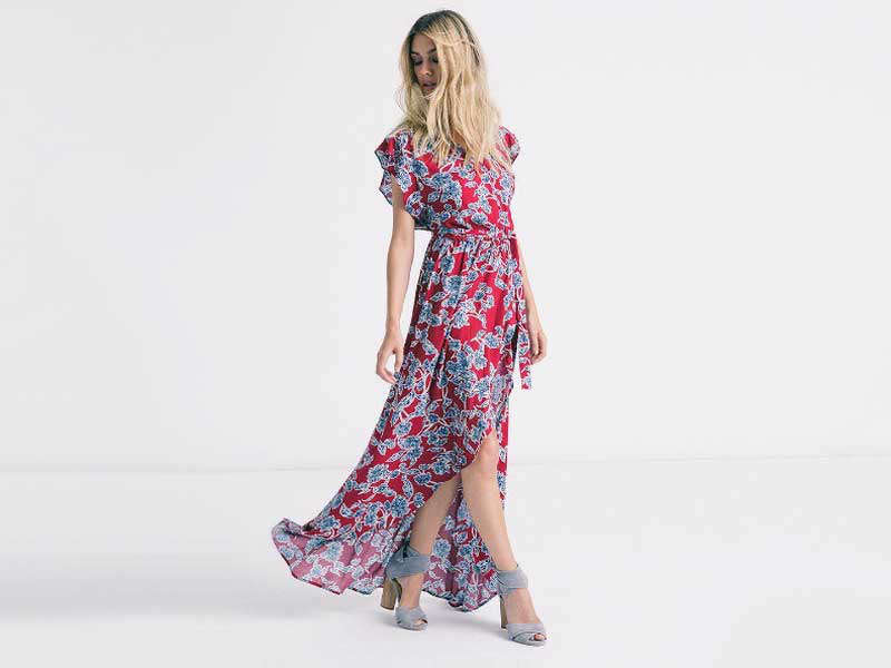 Rank & Style - Best Floral Maxi Dresses