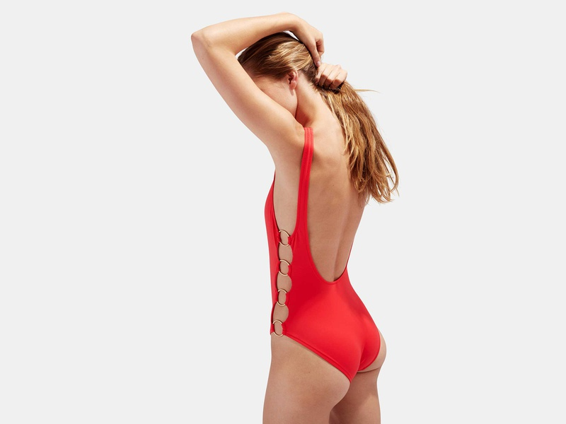 Rank & Style - Best High Leg One-Piece Swimsuits