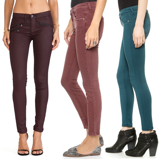 Rank & Style - Best Jewel-Toned Denim