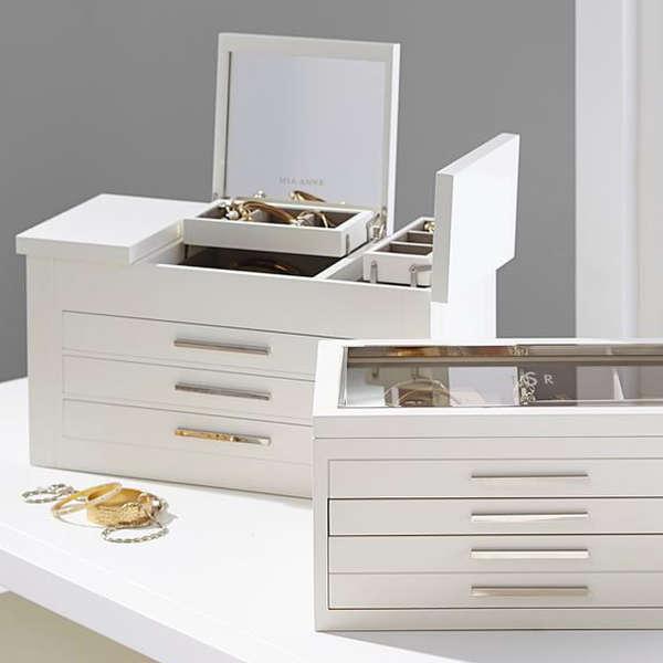 Jewelry Box Best Organizer Storage Case For Women Rank Style