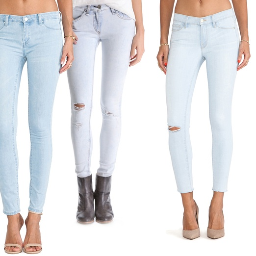 Rank & Style - Best Light Wash Skinny Jeans