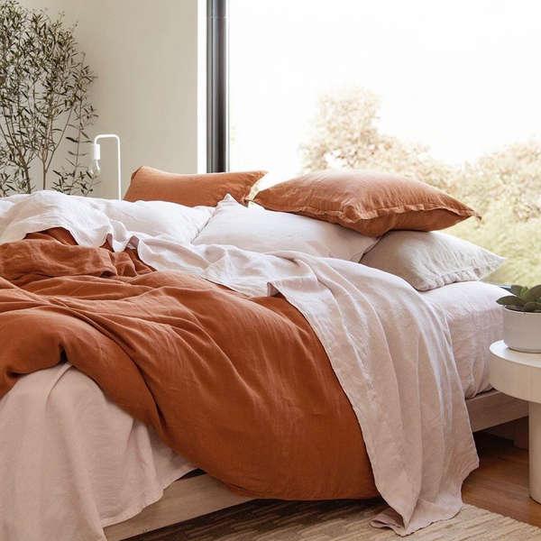 10 Best Linen Bedding And Sheet Sets, Linen Bedding Sheets