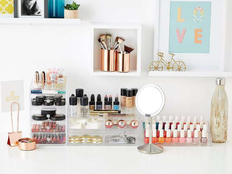 Rank & Style - Best Makeup Organizers