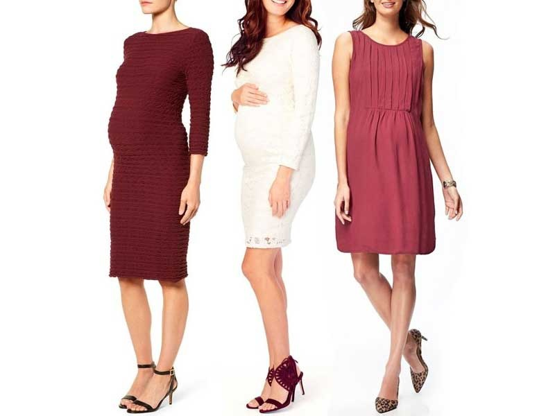 Rank & Style - Best Maternity Holiday Dresses