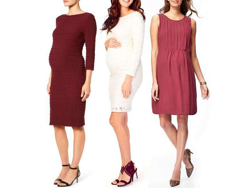 A Pea in the Pod Lace Trim Maternity Dress | Rank & Style