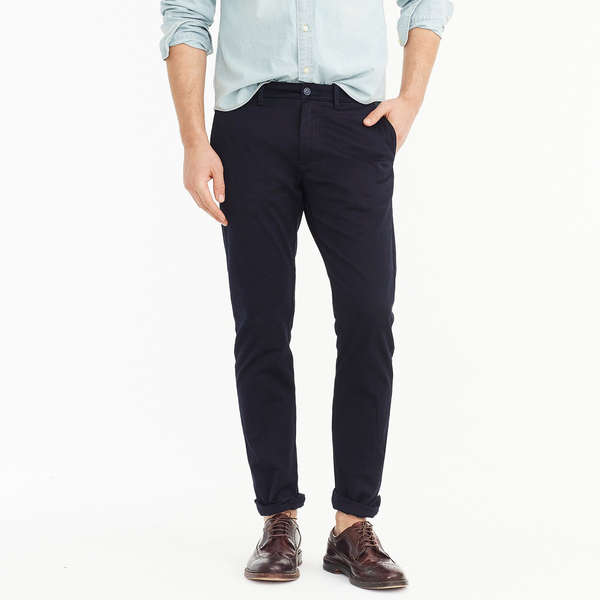 MUST WAY Mens Slim Relaxed Fit Wrinkle Resistant Flat Front Chino Pant