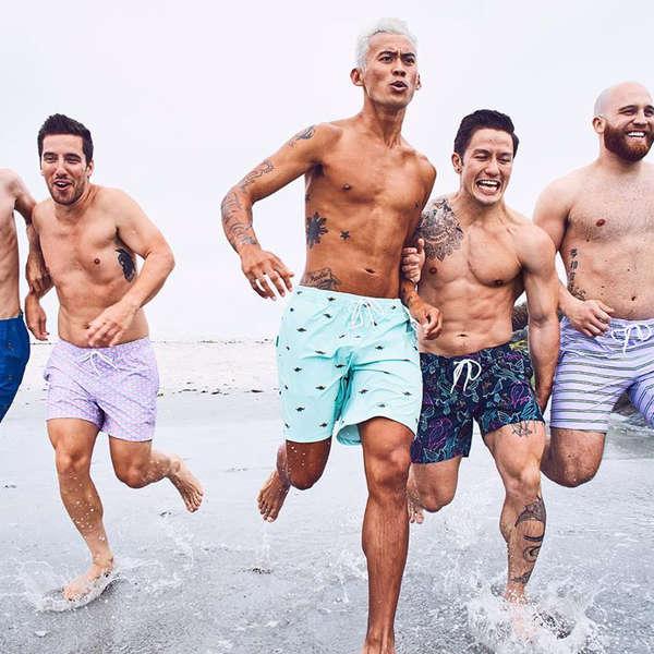 Men Comfortable Hawaii Beach B-boy Fashion Beach Shorts Swim Trunks Board Shorts