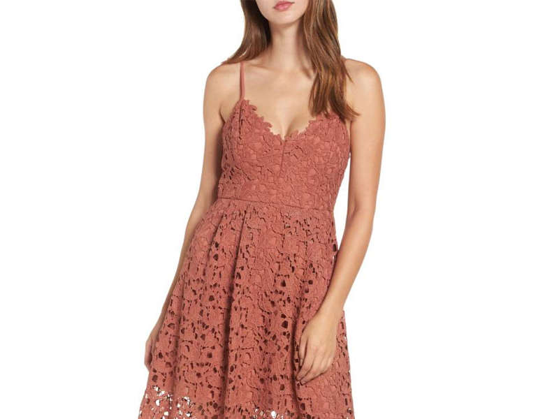 Rank & Style - Best Midi Lace Dresses