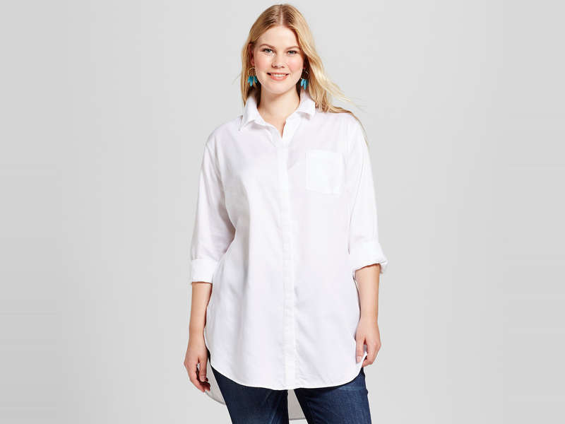 Rank & Style - Best Plus Size Button-Down Shirts