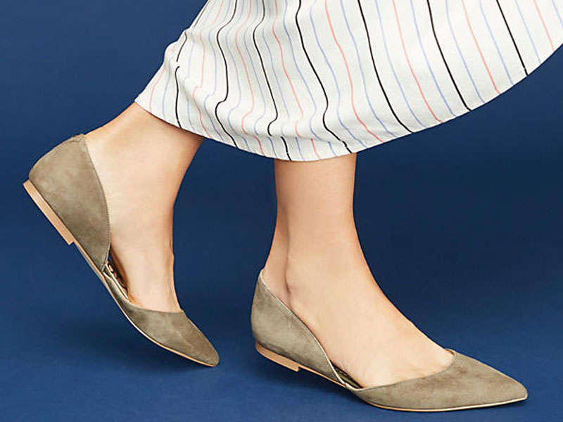 Rank & Style - Best Pointed Toe Flats Under $100