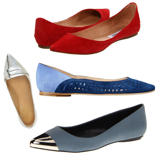 Rank & Style - Best Pointy Toe Flats