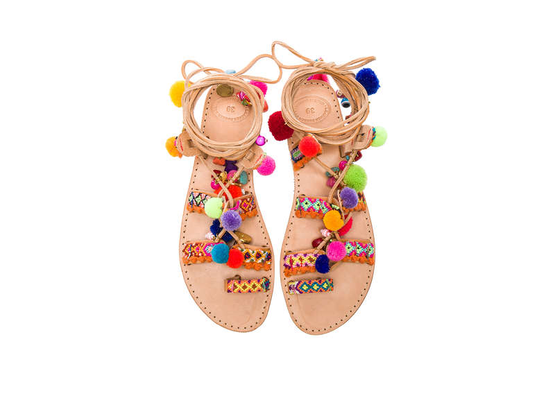 Rank & Style - Best Pom pom Sandals