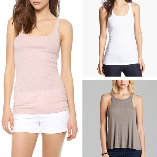 Rank & Style - Best Solid Colored Tanks