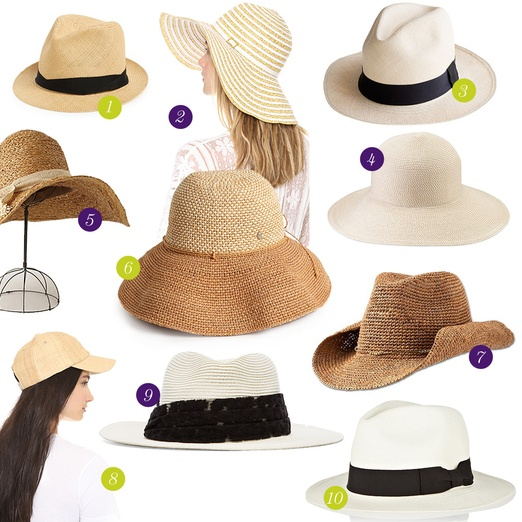 Rank & Style - Best Summer Hats