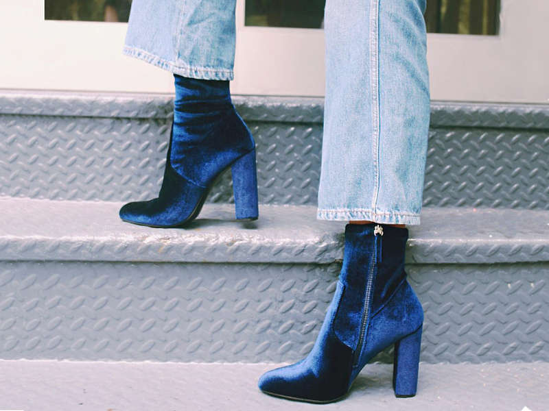 Rank & Style - Best Velvet Booties