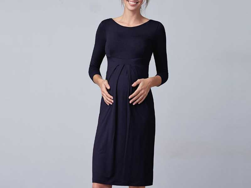 Rank & Style - Best Wear To Work Maternity Dresses