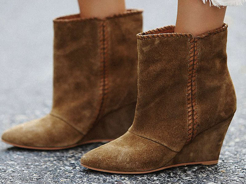 Rank & Style - Best Wedge Booties Under $200