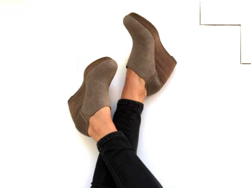 The Ten Best Wedge Heel Booties